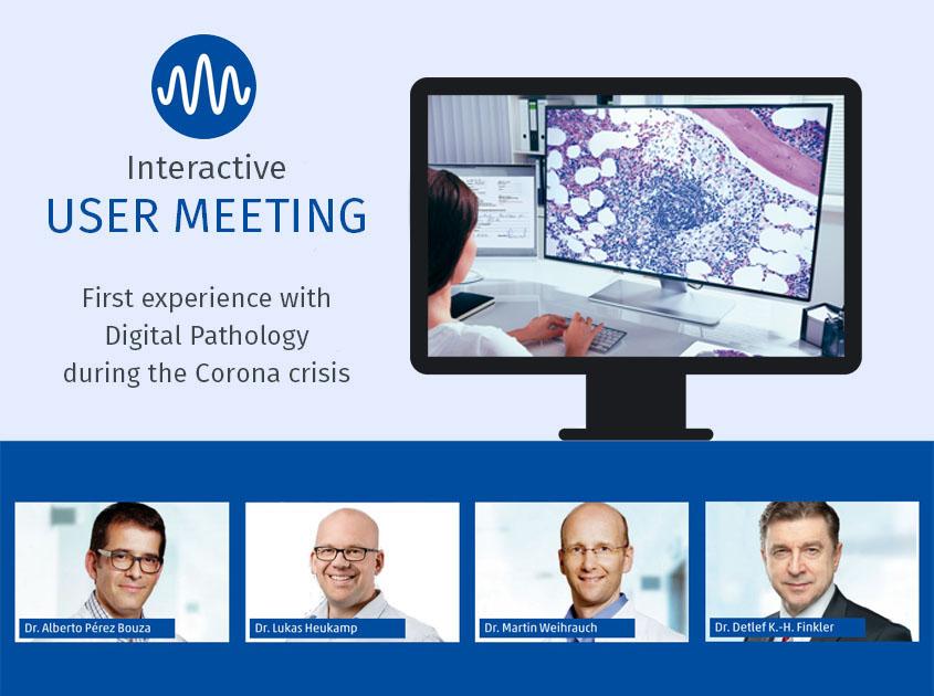 Speakers of the user meeting Digital Pathology of Smart In Media