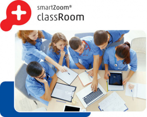 Product image medical education of young students using the digital microscopy platform SmartZoom ClassRoom