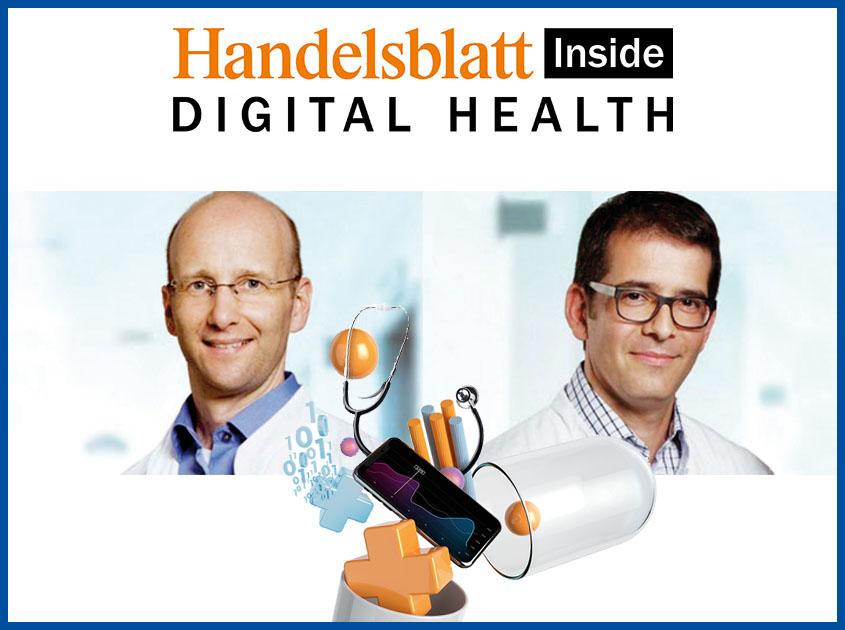 Preview of the article about Smart in Media in Handelsblatt Digital Health