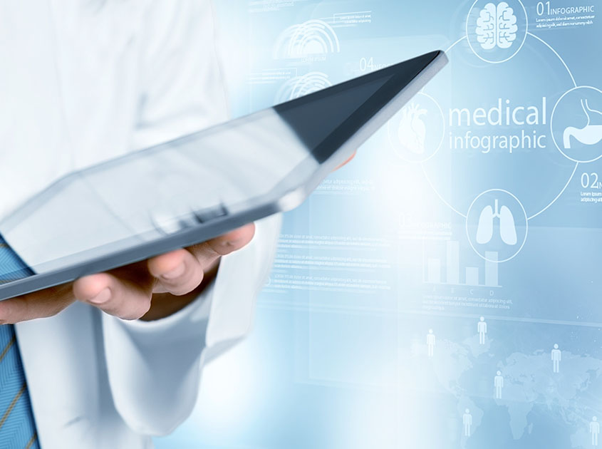 Use of the PathoZoom Clinical Trials Suite on the tablet