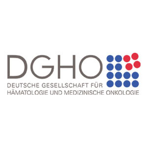 Logo Deutsche Gesellschaft für Hämatologie und Medizinische Onkologie