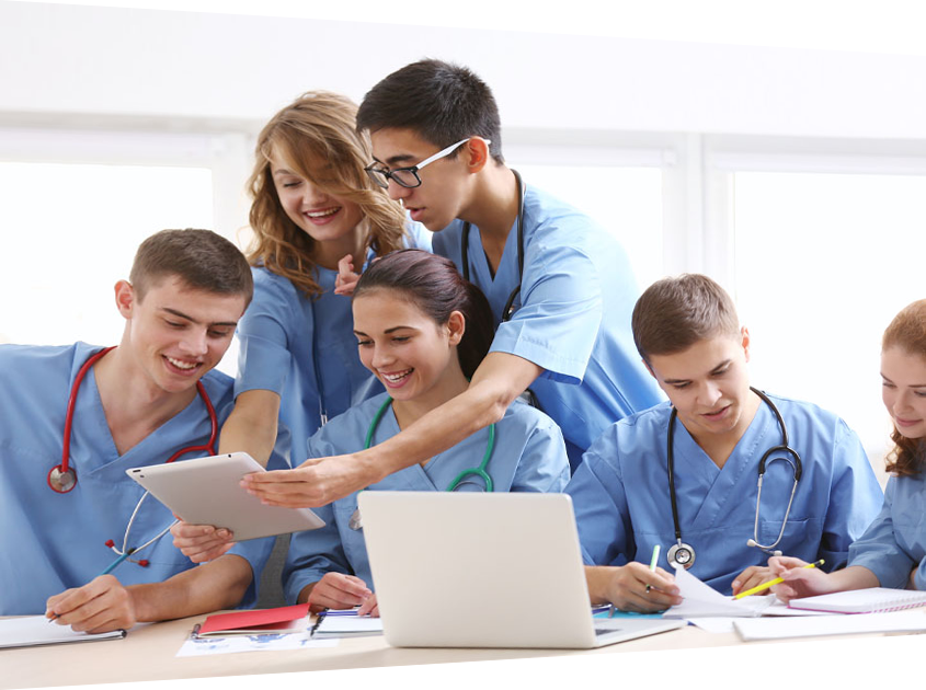 Medical Students learning with SmartZoom